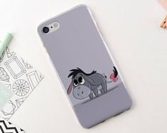 Disney Design Phone case Cute Donkey Phone Case for iPhone 7 7 8 Plus iPhone 6 6s 5 SE Samsung Galaxy S6 S7 S8 case Girly Design iphone x