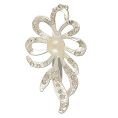 e9974a90ed9 Flower Pearl Crystal Brooch Brooched.  27.99. We only sell quality products  that look fabulous