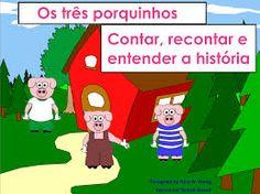 Resultado de imagem para história dos três porquinhos