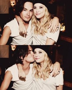 Tyler Blackburn and Ashely benson cute couple on pretty little liars and in real life!!!