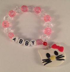 Girls bracelet girls jewelry little girl bracelet kids by jochec, $4.00