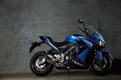 Suzuki GSX-S1000F ABS  Motor: 4 tiempos, refrigeración líquida, DOHC, doble árbol de levas. 999cc.  Transmisión:  6 velocidades.  Peso: 214kg.  #Motorcycle