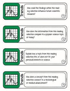 DEPTH AND COMPLEXITY TASK CARDS {SCIENCE} - TeachersPayTeachers.com