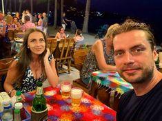 Dinner in Phuket, all sunburned 🌺 Phuket, Birthday Cake, Dinner, Lifestyle, Desserts, Food, Dining, Birthday Cakes, Meal