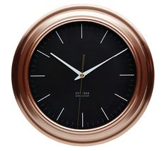 Watch the time with this beautiful  @kitchencraftuk copper effect #clock // orders@pjmarketing.co.za // Code: KCCLOCKCOP