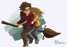 harry and hermione Harry Potter Hermione Granger, Harry Potter Drawings, Harry Potter Ships, Harry Potter Anime, Harry Potter Fan Art, Harry Potter Fandom, Harry Potter World, Harry Potter Memes, Harmony Harry Potter