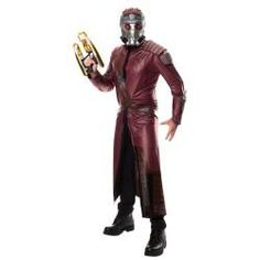 Men's Starlord Costume - Star-Lord Adult Costume Lead the Guardians of the Galaxy on a mission to save the cosmos! Costume includes: Jacket with . Star Lord Halloween Costume, Last Minute Halloween Costumes, Adult Halloween, Halloween Ideas, Pirate Halloween, Trendy Halloween, Halloween 2014, Halloween Parties, Family Halloween