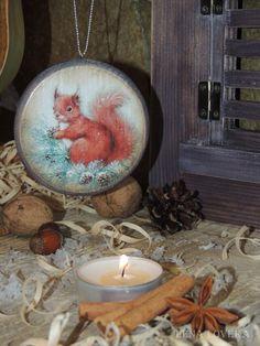 """Новогодняя игрушка-подвеска на ёлку """"Зимняя искра"""" - стильное интерьерное украшение.для дома. Lena Loveka"""