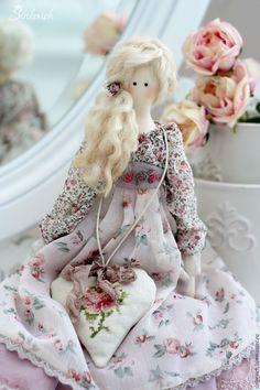 Купить Элис - бледно-розовый, тильда, тильда кукла, шебби стиль, декор для…