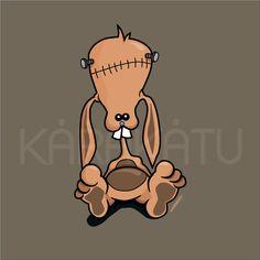 FrankenBunny - Camisetas con este y otros diseños en Karakatu.com