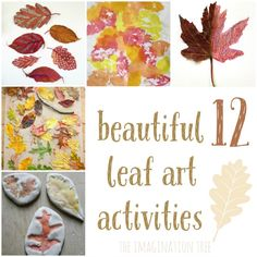 12 Autumn leaf art activities for kids