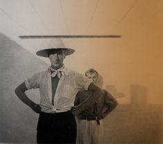 Cecil Beaton and Truman Capote in Tangier, autumn of 1949