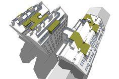 chociwski architekten » DG Urban Loritz Platz Perspective Photography, Projects