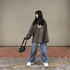 Cute Lazy Outfits, Retro Outfits, Korean Outfits, Grunge Outfits, Vintage Outfits, Cool Outfits, Fashion Outfits, Boyish Outfits, Fashion Tips