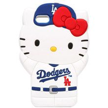 b6c241468 Los Angeles Dodgers Hello Kitty iPhone 5 Case Cool Phone Cases