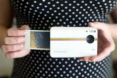 Polaroid Instant Print Camera  http://www.lovedesigncreate.com/polaroid-z2300-10mp-digital-instant-print-camera-white/