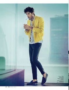 mohit marwah photos 003 800x1042 Bollywood Actor Mohit Marwah Dons Playful Spring Fashions for GQ India