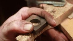 How to make wooden rings. Can't wait to do this!