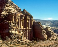 Petra ( meaning rock) is a historical and archaeological city in the Jordanian governorate of Ma'an that is famous for its rock cut architecture and water conduits system
