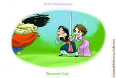 disney pocket princesses comics | Pocket Princesses: If Disney Princesses were Castlemates | Seventeen