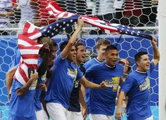 USA soccer Gold Cup Champs 2013