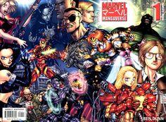 Marvel Mangaverse: New Dawn by Ben Dunn