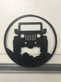 Jeep GARAGE signe par SCHROCKMETALFX sur Etsy