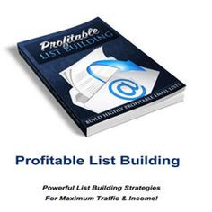Do You Struggle with Lucrative List Building? Solution Revealed In This Blog Post!  Click Here> For Free PDF File http://jhiatt.com/profitable-list-building/(...)