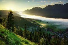 River of Fog by Kilian Schönberger Photography Geo Magazin, Landscape Photography, Art Photography, Travel Photography, By Kilian, Tree Mushrooms, Sunset Landscape, Gods Creation, Photos Of The Week