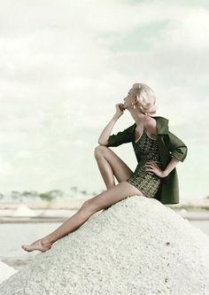 Sunny Harnett by Leombruno Bodi for Glamour, 1954.