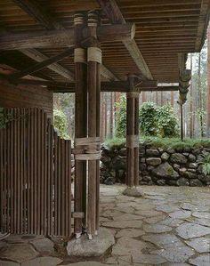 Villa Mairea, by Alvar Aalto, 1939, inNoormarkku, Finland.: