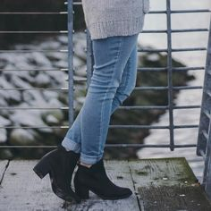The essential black booties | Women's fashion #hunnistyle