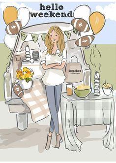 The Heather Stillufsen Collection from Rose Hill Designs Bon Weekend, Hello Weekend, Happy Weekend, Friday Weekend, Weekend Quotes, Its Friday Quotes, Weekender, Rose Hill Designs, Weekend Greetings