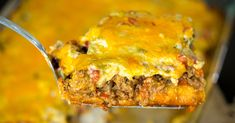 Cattle drive casserole will be the best thing you make this Mexican Food Recipes, New Recipes, Cooking Recipes, Favorite Recipes, Recipies, Beef Dishes, Food Dishes, Main Dishes, Beef Casserole