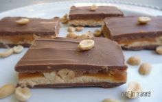 Homemade Snickers! AH-MAZING! Seriously delicious!