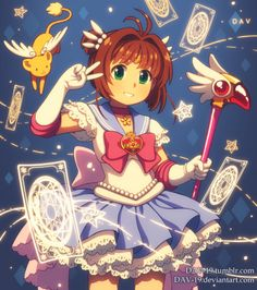 DAV-19 - Sakura as Pretty Guardian Sailor Moon