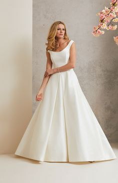Beautiful bridal simplicity from Little White Dress