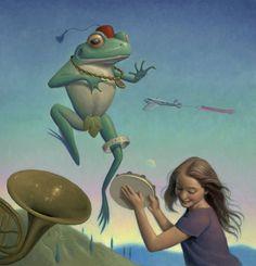 Pinzellades al món: Il·lustracions de Mark Elliot: realitat i fantasia