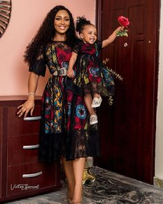 100 Latest Trending Ankara And Beautiful Ankara Styles In Vogue For Beautiful Ladies to check out(Updated) African Wear Dresses, African Fashion Ankara, Latest African Fashion Dresses, African Print Fashion, Africa Fashion, African Attire, African Prints, Mother Daughter Matching Outfits, Beautiful Ankara Styles