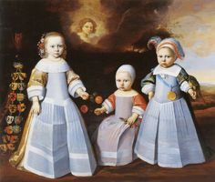 1654 Jan Jansz. de Stomme - Three Children from... | History of fashion in art & photo