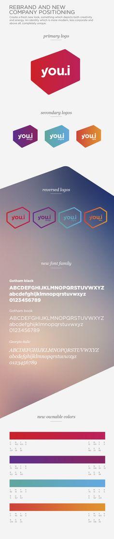 You.i - Rebrand by Pascal Potvin