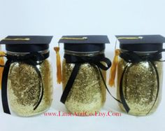 Birthday Decorations Mason Jar Centerpieces Black And By LimeAndCo More Party GraduationGraduation