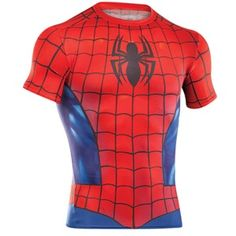 Under Armour Compression Shirts of Marvel & DC Comics Characters