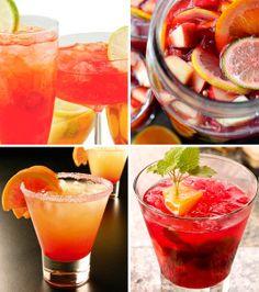 Naranjada con granadina. http://www.fiestade15.com/ Bebidas sin alcohol