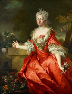 The marquise de Fortia, 1726.