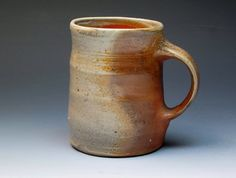 Nic Collins Anagama Wood Fired Mug.
