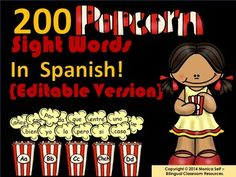 """Popcorn words are words that keep """"popping up"""" in everything we read."""