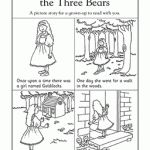 Here's a picture story for you to color! This series of worksheets tells the story of Goldilocks and Mama, Papa, and Baby Bear. Your child will listen as you read the story, color in the pictures, and finish telling the story with words and pictures at the end.