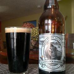 Grand Teton Brewing 5 O'Clock Shadow Double Black Lager