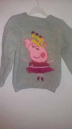 Peppa knitting